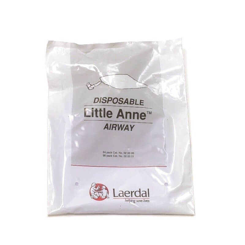 Luchtwegen voor eenmalig gebruik Little Anne, 24 stuks
