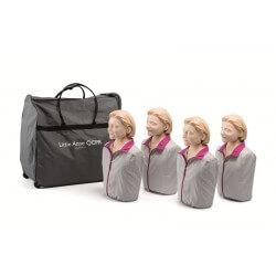 Pack de 4 Little Anne QCPR