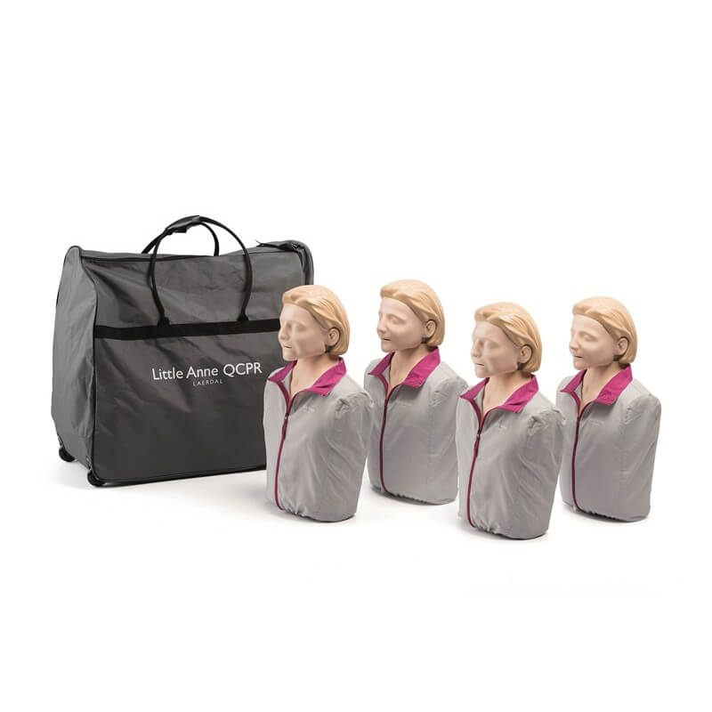 Laerdal - Pack de 4 Little Anne QCPR