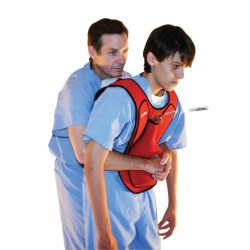 Act+Fast Restue Choking Vest (training) - RED