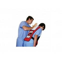 Gilet (entraînement) d'intervention en cas d'étouffement Act+Fast ROUGE