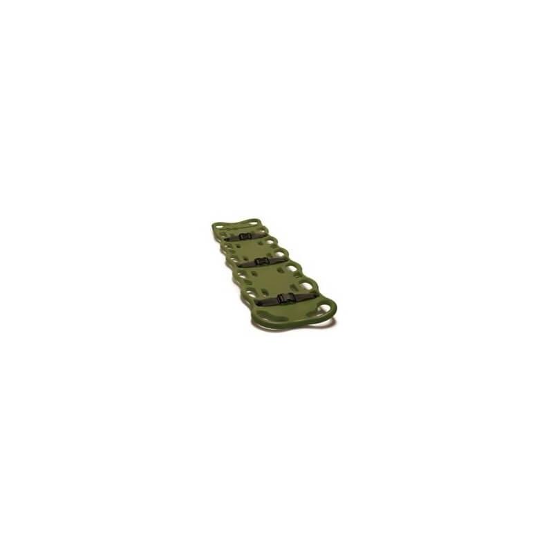 Baxstrap immobilisatieplank, groen (riemen in optie)