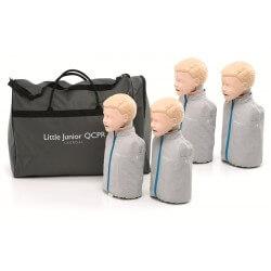 Laerdal - Little Junior QCPR dans sac de transport, 4 pièces