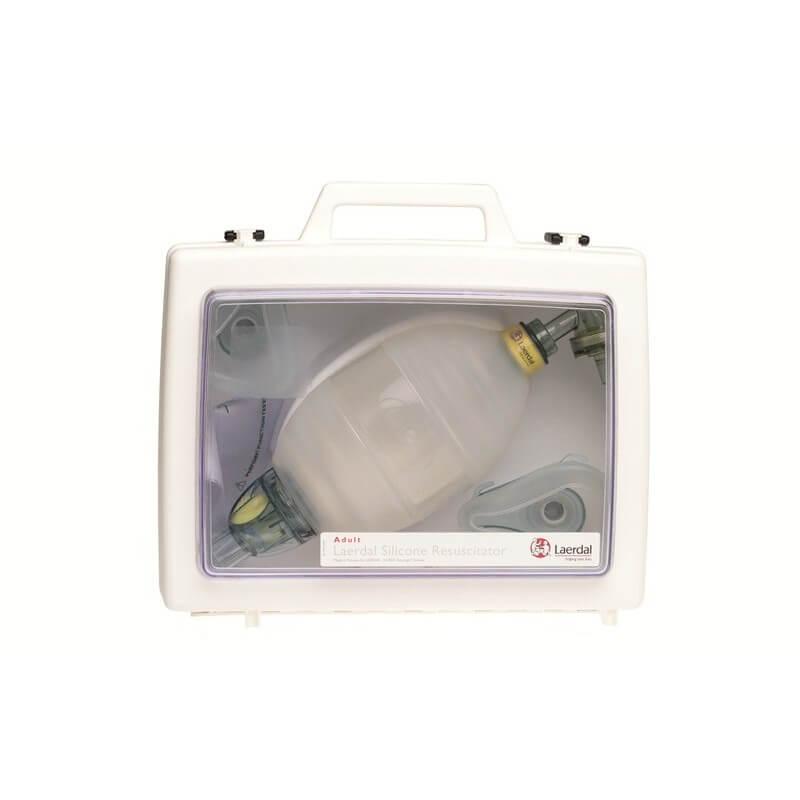 LSR insufflateur adulte complet, en valise transparente