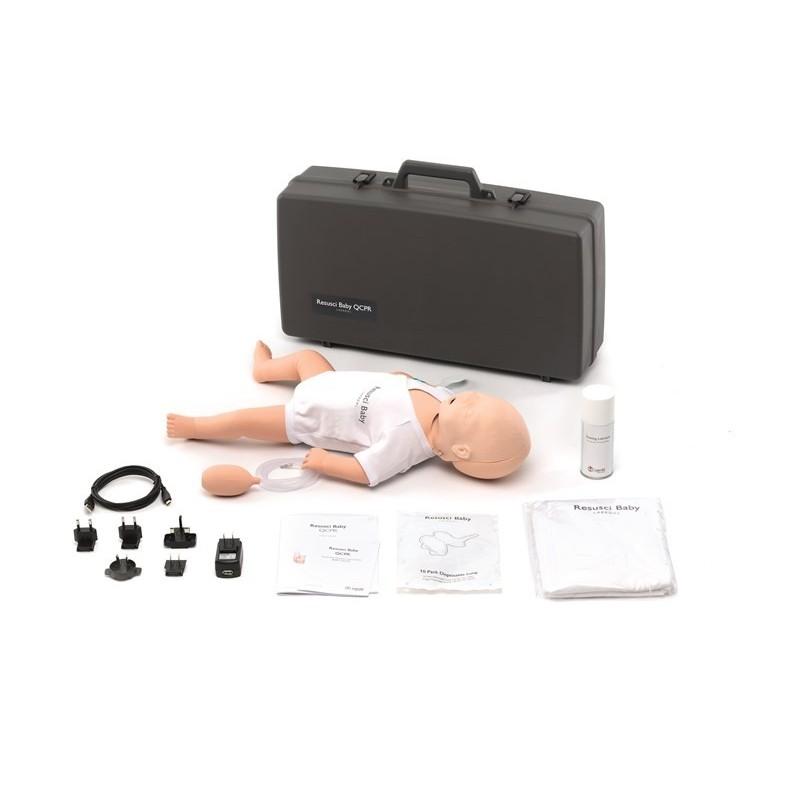 Laerdal - Resusci Baby QCPR avec tête de gestion des voies aériennes