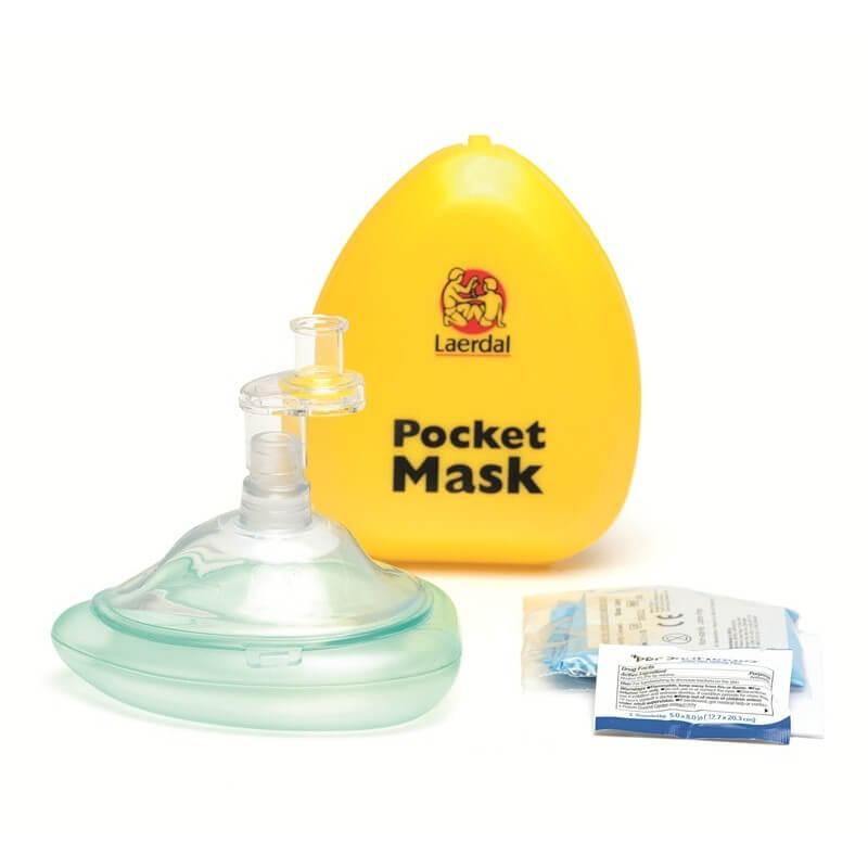 Laerdal - Masque de poche Laerdal avec valve et filtre