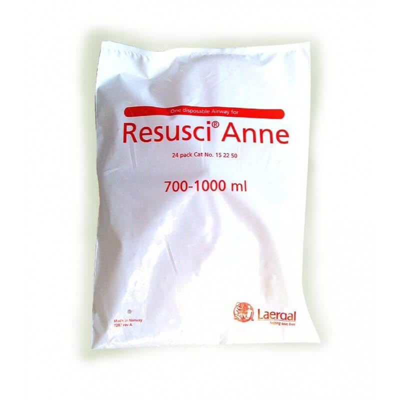 Luchtwegen Resusci Anne, 700-1000 ml, 24 stuks