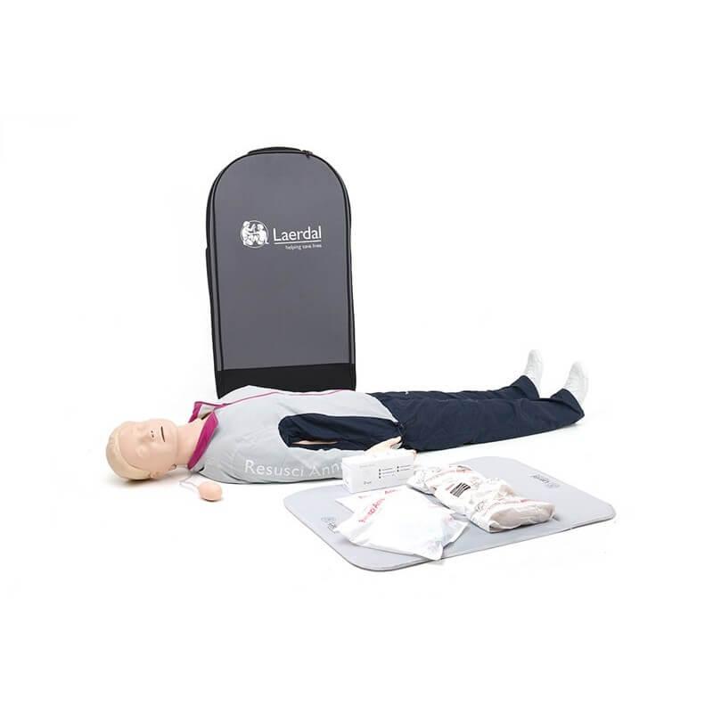 Laerdal - Resusci Anne First Aid Corps entier valise semi-rigide (SANS électronique)