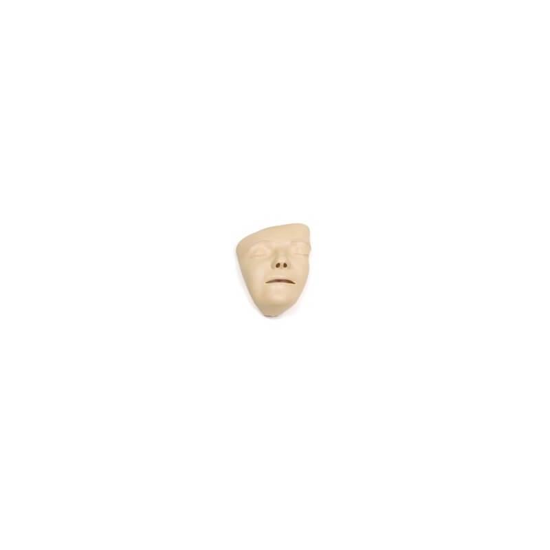Masques de visage, peints à la main, 6 pieces