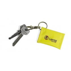 Laerdal Face Shield with yellow Key Ring, 25 stuks