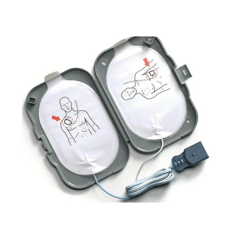 HeartStart FRx electrodes de defibrillation SMART II, 1 paire