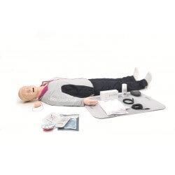 Laerdal - Resusci Anne QCPR AED AW Corps entier avec tête gestion VA