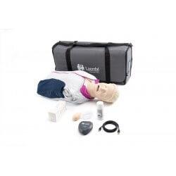 Resusci Anne QCPR AW Torse avec tête gestion VA sac