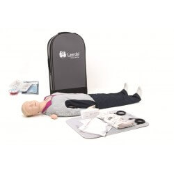 Laerdal - Resusci Anne QCPR AED Corps entier valise semi-rigide