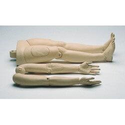 Resusci Anne Modular System, bras et jam bes rigides