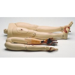 Resusci Anne Modular System, trauma arm en benen