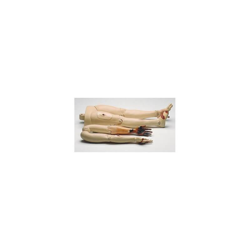 Resusci Anne Modular System, bras et jambes trauma
