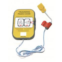 HeartStart FRx electrodes d' entrainement II, réutilisable, 1 paire