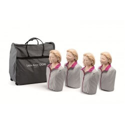 Pack de 4 Little Anne QCPR...