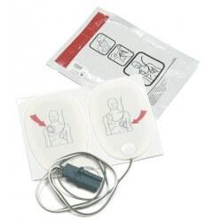 Electrodes défibrillation...